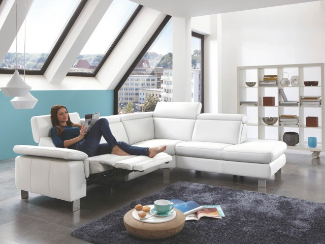 <p><strong>Ledersofa wei&szlig;</strong><br />